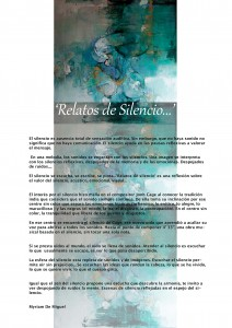 Relatos de silencio-red web